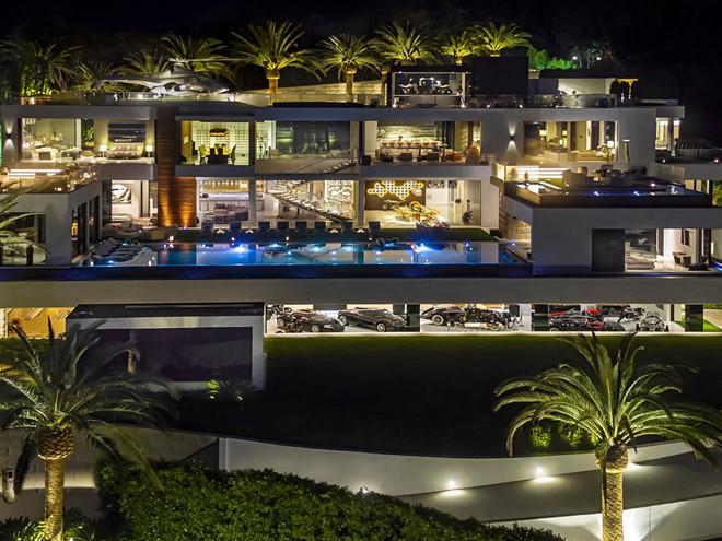Có gì đặc biệt bên trong siêu biệt thự đắt nhất nước Mỹ trị giá 5.700 tỷ đồng?-1