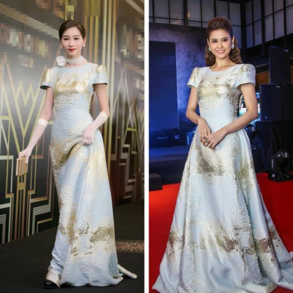 Hơn cả Phạm Hương, Trương Quỳnh Anh mới là 'trùm đụng váy áo' với loạt mỹ nhân Vbiz-1