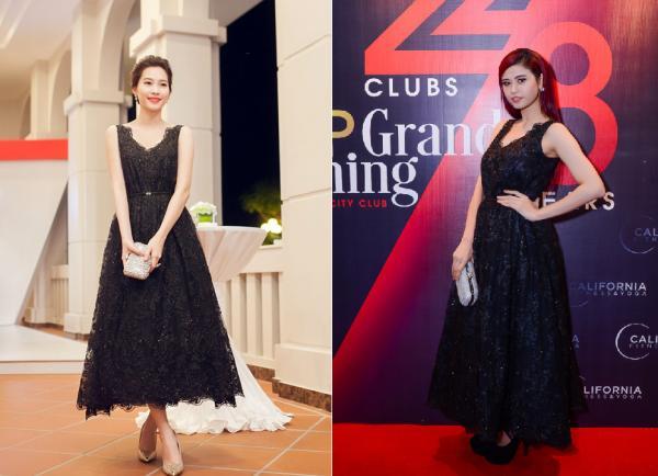 Hơn cả Phạm Hương, Trương Quỳnh Anh mới là 'trùm đụng váy áo' với loạt mỹ nhân Vbiz-2