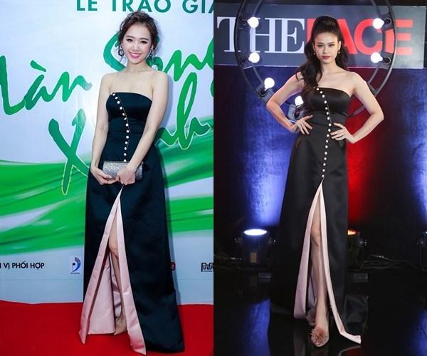 Hơn cả Phạm Hương, Trương Quỳnh Anh mới là 'trùm đụng váy áo' với loạt mỹ nhân Vbiz-4