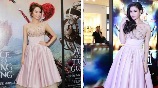 Hơn cả Phạm Hương, Trương Quỳnh Anh mới là 'trùm đụng váy áo' với loạt mỹ nhân Vbiz-5