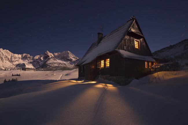 Lạc vào mùa đông kỳ diệu trên núi ở Ba Lan-2