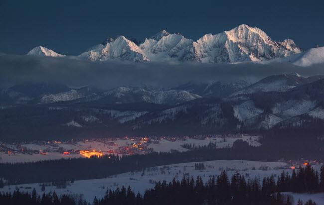 Lạc vào mùa đông kỳ diệu trên núi ở Ba Lan-3