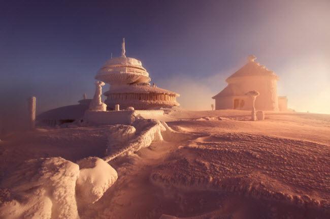 Lạc vào mùa đông kỳ diệu trên núi ở Ba Lan-4