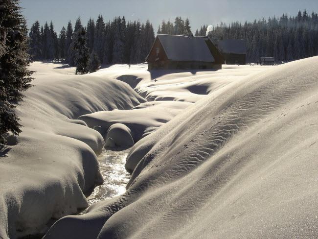 Lạc vào mùa đông kỳ diệu trên núi ở Ba Lan-7