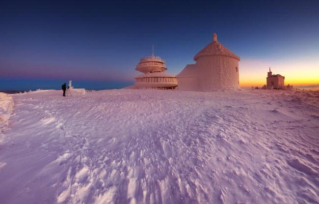 Lạc vào mùa đông kỳ diệu trên núi ở Ba Lan-14