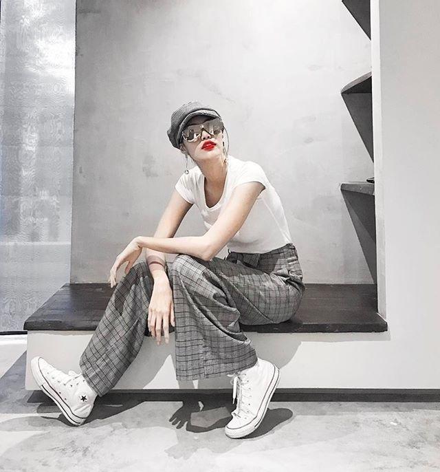 Mẹ chồng Thanh Hằng diện đồ menswear - con dâu Lan Khuê cá tính nổi bật nhất street style-2