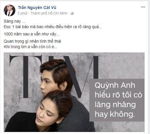 Giữa tin đồn bà xã say nắng Bình Minh, Tim lên tiếng: Trong tim anh vẫn còn có em-3