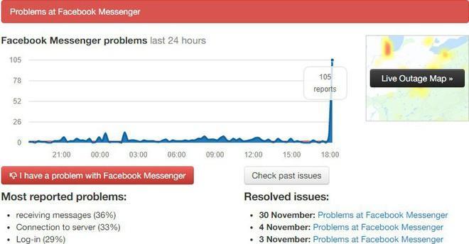 Facebook Messenger lại sập tại Việt Nam, khung chat trắng xóa trên mọi nền tảng di động-2