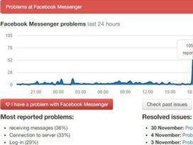 Facebook Messenger lại sập tại Việt Nam, khung chat trắng xóa trên mọi nền tảng di động