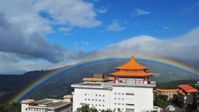 Cầu vồng kỷ lục kéo dài 9 giờ tại Đài Loan-1
