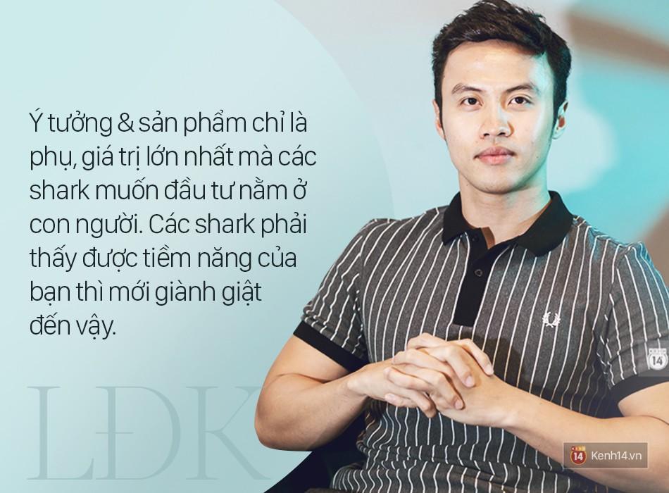 Shark Lê Đăng Khoa: Trẻ nhất, ít tiền nhất nhưng tự tin là người có khả năng xây dựng thương hiệu tốt nhất!-4