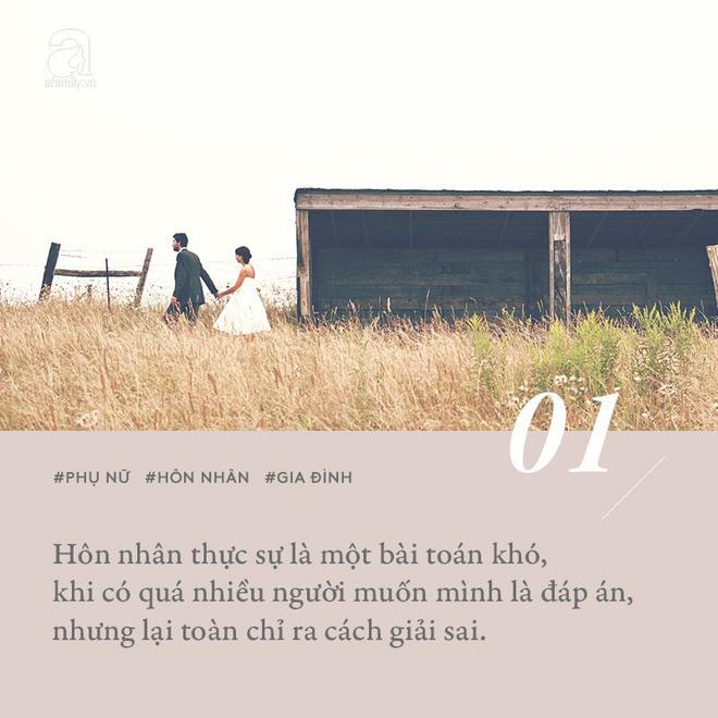 Hôn nhân là một bài toán khó, khi có quá nhiều người muốn mình là đáp án nhưng lại toàn chỉ ra cách giải sai!-1