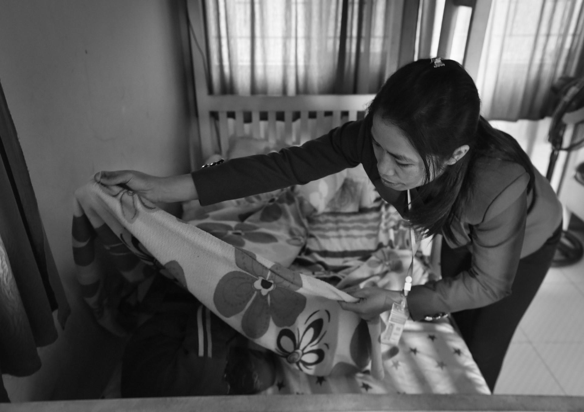 Ngôi nhà chung của 80 trẻ em nhiễm HIV bị bỏ rơi-19