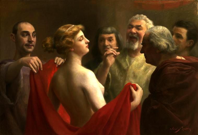 Gái mại dâm nổi tiếng Hy Lạp cổ đại: Kén khách mua vui, phạm tội vào tù vẫn được tha bổng nhờ vẻ đẹp thần thánh-2