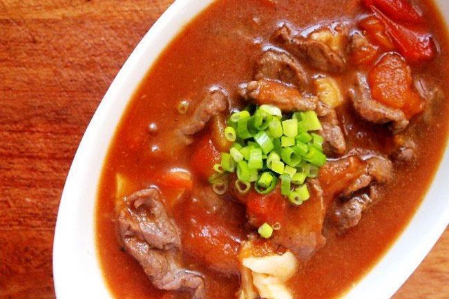 Những món ăn ngon từ thịt bò chế biến nhanh và đơn giản-1