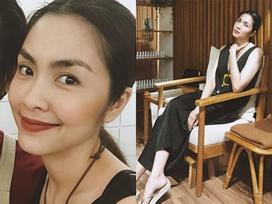 Tin sao Việt: Khí chất Tăng Thanh Hà mặc màu đen vẫn ngời ngời chói lóa