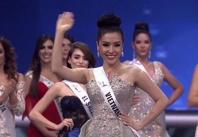 Thi cử thị phi, Huyền My vẫn cân cả dàn người đẹp Việt thi quốc tế năm 2017-7