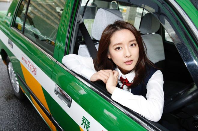 Xao xuyến trước nhan sắc của bóng hồng lái taxi xinh đẹp nhất Nhật Bản-3