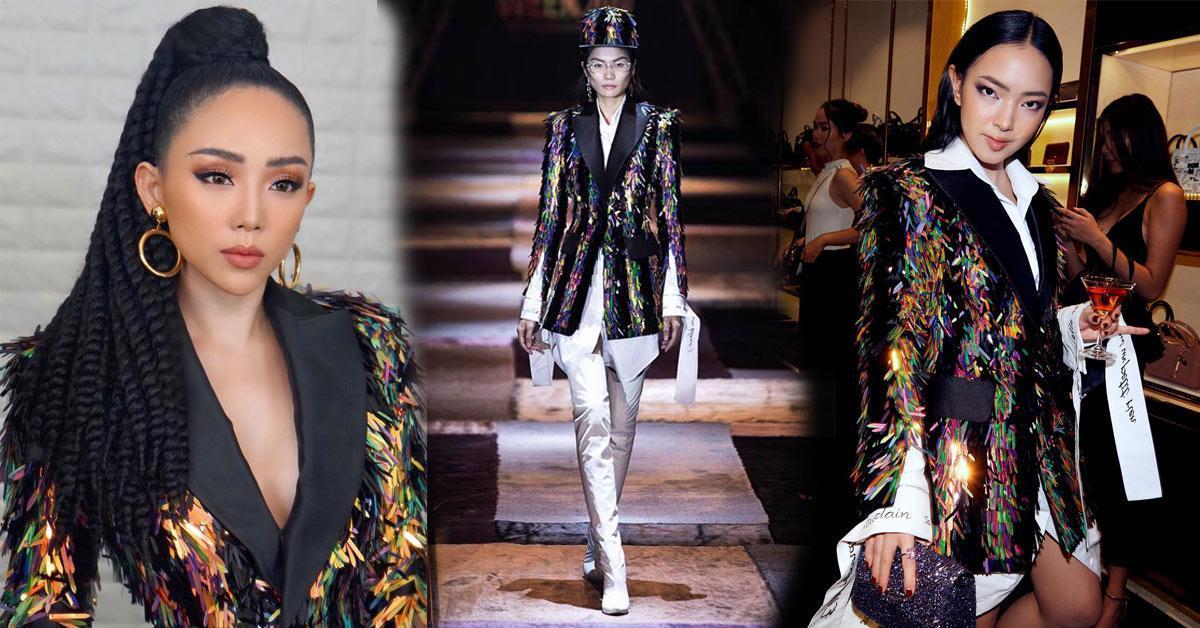 Đụng hàng đàn chị Tóc Tiên, fashion icon Châu Bùi vẫn ngời ngời khí chất-6