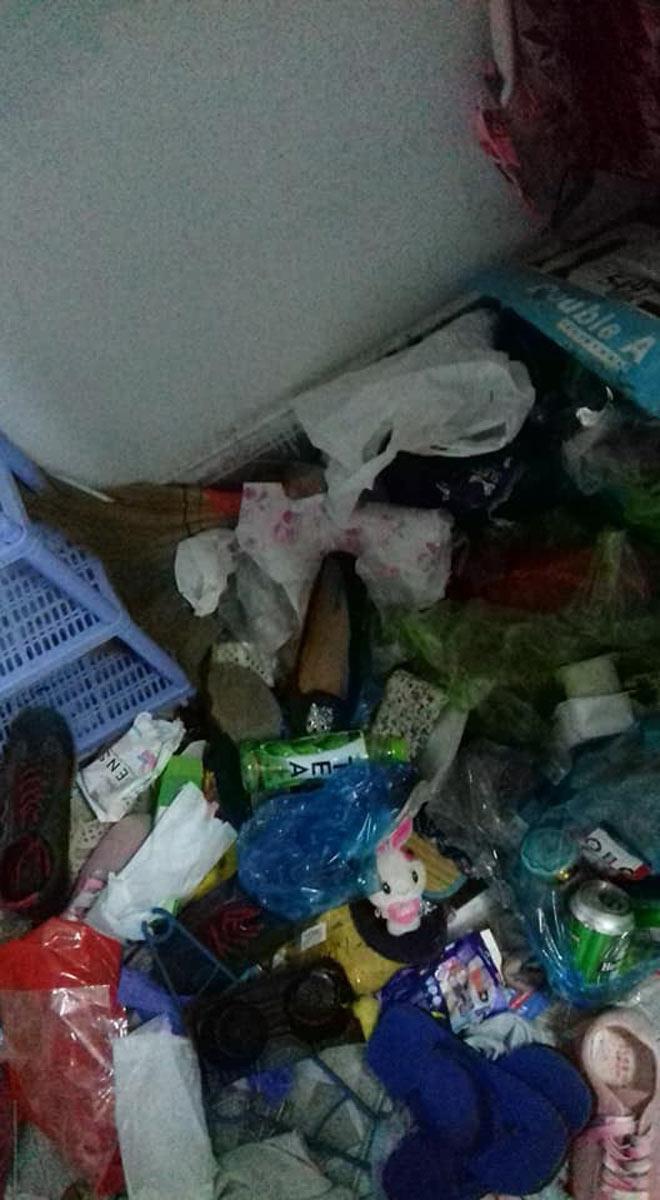 Kinh hoàng phòng trọ bẩn như bãi rác của cô gái Cần Thơ-5