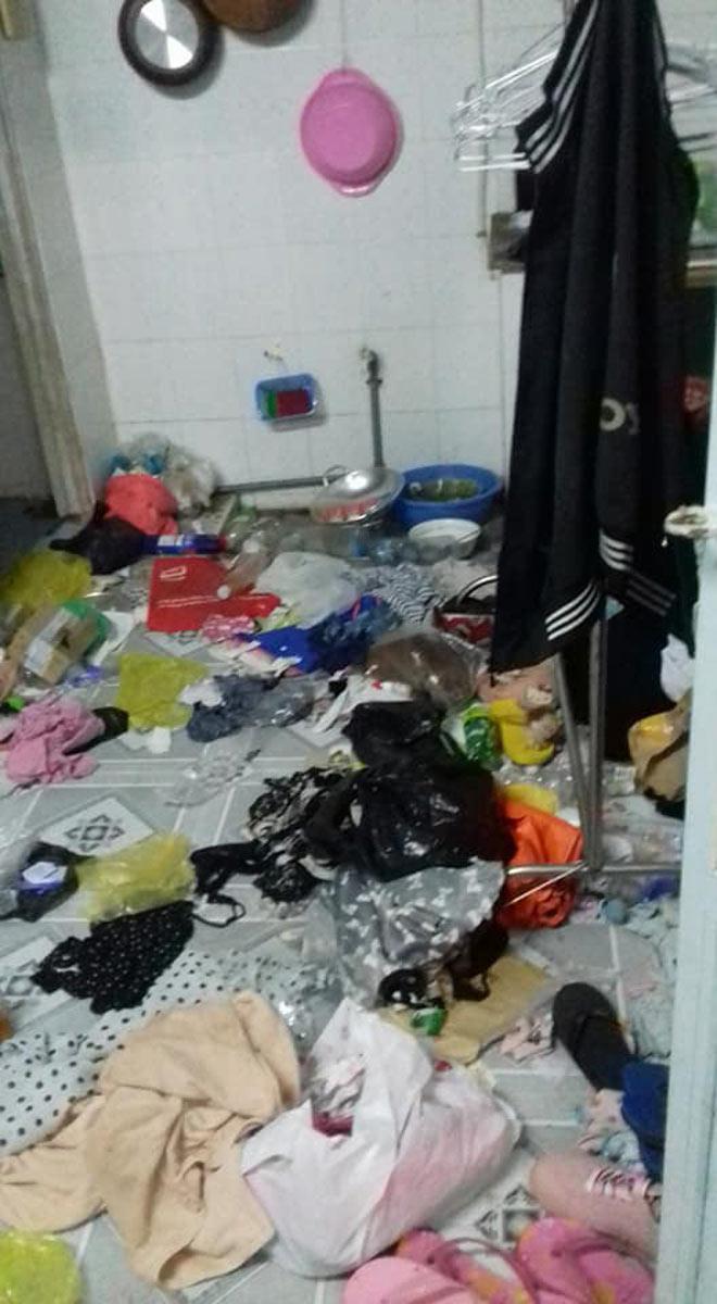 Kinh hoàng phòng trọ bẩn như bãi rác của cô gái Cần Thơ-1