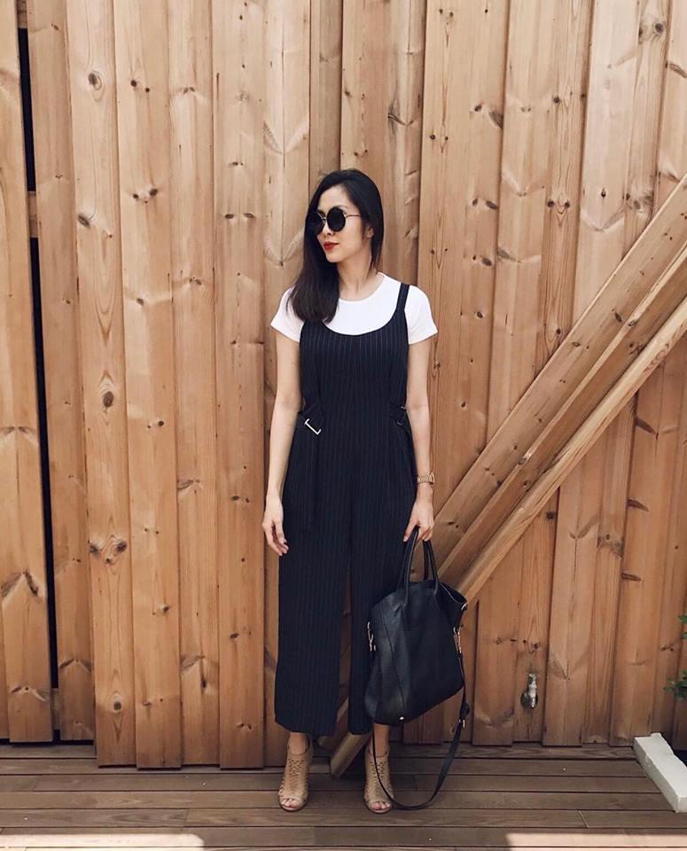 Mẹ hai con Tăng Thanh Hà chuộng style giản dị nhưng vẫn chất từng centimet - ảnh 9