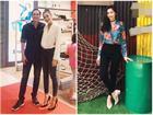 'Mẹ hai con' Tăng Thanh Hà chuộng style giản dị nhưng vẫn 'chất từng centimet'