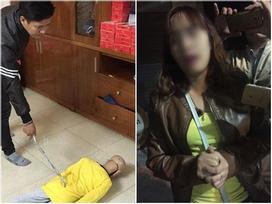 Mẹ kế đánh con riêng của chồng trình diện công an: 'Do cháu ăn vụng thịt bò nên đã cầm đũa vụt vào mặt cháu'