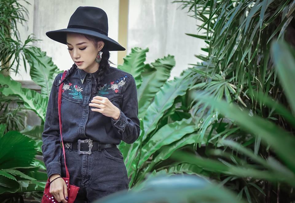 Clip: Học lỏm Quỳnh Anh Shyn - Salim cách mix đồ phong cách boho siêu ấn tượng - ảnh 6