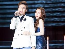 Hòa Minzy âu yếm trai đẹp, Erik tình tứ với Hoa hậu Hoàng Kim như người yêu
