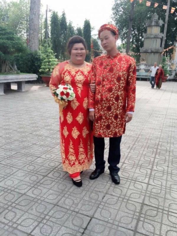 Chuyện tình gây chú ý của cặp đôi Bình Dương vợ 120kg, chồng nặng 60 kí-5
