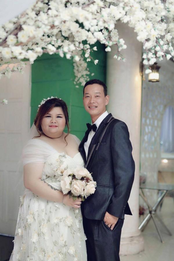 Chuyện tình gây chú ý của cặp đôi Bình Dương vợ 120kg, chồng nặng 60 kí-7