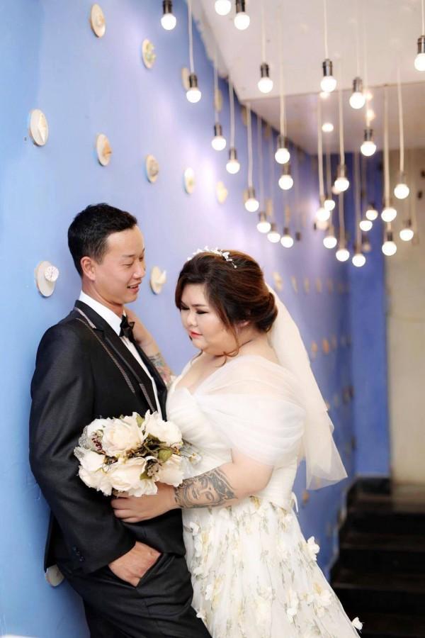 Chuyện tình gây chú ý của cặp đôi Bình Dương vợ 120kg, chồng nặng 60 kí-11