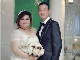 Chuyện tình gây chú ý của cặp đôi Bình Dương 'vợ 120kg, chồng nặng 60 kí'