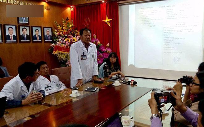 Bác sĩ Bệnh viện Bạch Mai nói như muốn khóc khi họp báo vụ triệt sản rồi vẫn có thai-1