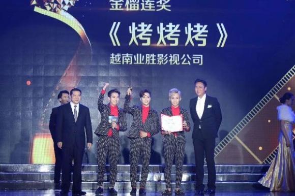 Nhóm HKT thắng giải thưởng âm nhạc trị giá gần 350 triệu đồng tại Trung Quốc-1
