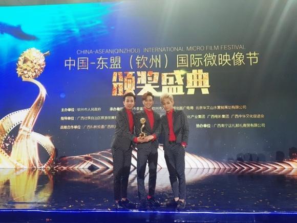 Nhóm HKT thắng giải thưởng âm nhạc trị giá gần 350 triệu đồng tại Trung Quốc-2