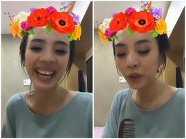 Thu Trang trách yêu fan: 'Chính các em khiến chị bị ảo tưởng về khả năng ca hát'