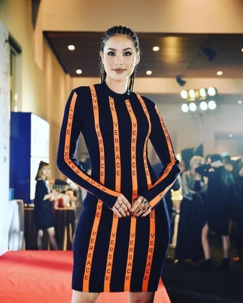 Phạm Hương chi gần 20 triệu, mua phải 'đầm cũ' của Angela Phương Trinh, Huyền Baby-1