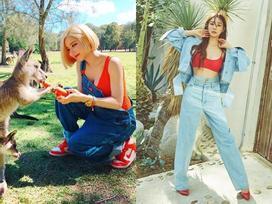 DJ Soda - Tiffany 'lên đồ' sexy khoe vòng 1 gợi cảm nổi bật nhất street style sao Hàn