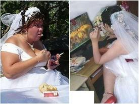 Chú rể 'đau đầu' vì những kiểu tạo dáng không giống ai của cô dâu