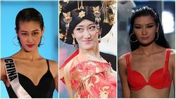 Những hoa hậu Trung Quốc bị chê giống 'đàn ông mặc váy' trên đấu trường quốc tế