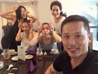 Tin sao Việt: Tăng Thanh Hà 'quậy' tưng bừng cùng hội chị em bạn dì ngày cuối tuần