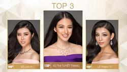 Vượt dàn chân dài đình đám, Vũ Tuyết Trang dẫn đầu thành tích tại Hoa hậu Hoàn vũ Việt Nam 2017