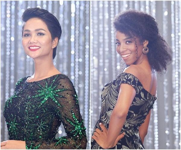 Vượt dàn chân dài đình đám, Vũ Tuyết Trang dẫn đầu thành tích tại Hoa hậu Hoàn vũ Việt Nam 2017-7