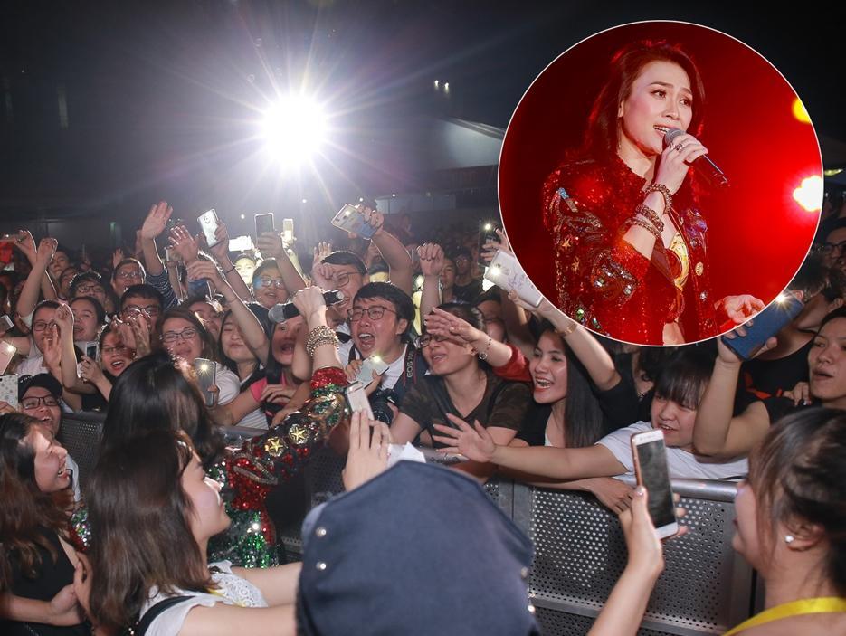 Mỹ Tâm khiến hàng ngàn fan 'phát cuồng' khi thể hiện điệu nhảy say rượu trứ danh