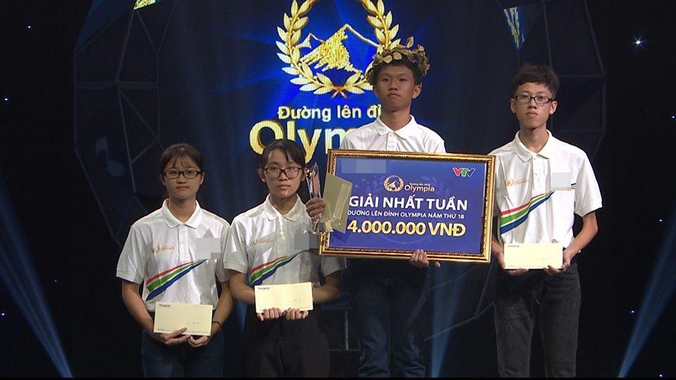 Thí sinh khiến MC Diệp Chi đứng hình khi nói nhanh như gió tại cuộc thi tuần 2 của Olympia-2