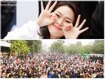 Mỹ Tâm sưởi ấm trái tim hàng ngàn người hâm mộ giữa trời gió rét Hà Nội