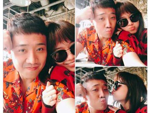 Trấn Thành và Hari Won diện đồ chói chang không liên quan kỉ niệm 700 ngày yêu nhau